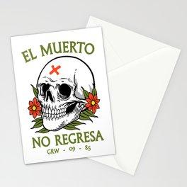 No regresa Stationery Cards