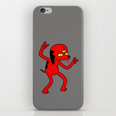 Satan's Little Helper iPhone & iPod Skin