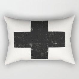 Ski Patrol Sign Rectangular Pillow