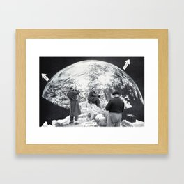 Space Tourism Framed Art Print