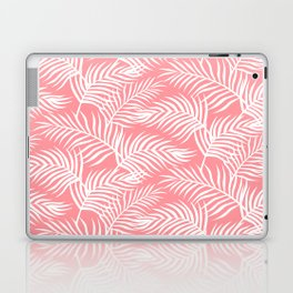 Palm Leaves_Pink Laptop & iPad Skin