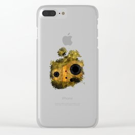 laputa: castle in the sky robot guardian Clear iPhone Case
