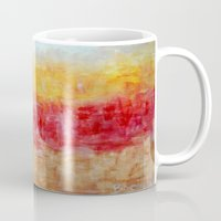 the strokes Mugs featuring Strokes by Bonnie J. Breedlove