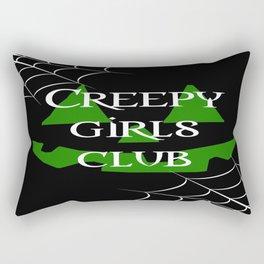 Creepy girls club Rectangular Pillow