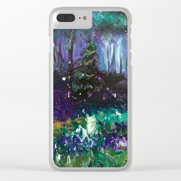 Impressionistic Daisy - Brand New Clear iPhone Case