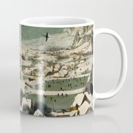 Hunters in the Snow (Winter) Coffee Mug
