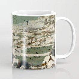 Hunters in the Snow (Winter) Coffee Mug
