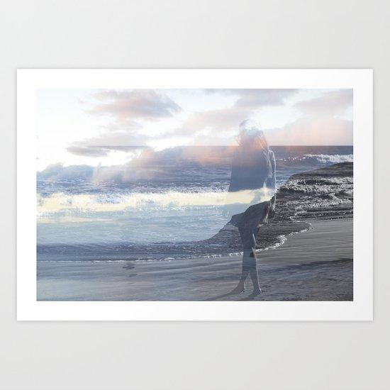 Into the Wave Art Print