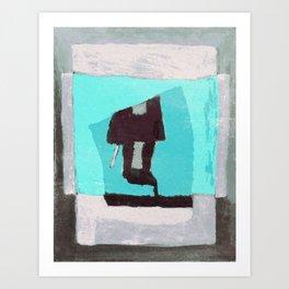 Trenchcoat Art Print