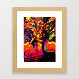 Flabberblasted Framed Art Print