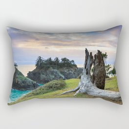 Lonely Tree Stump Rectangular Pillow