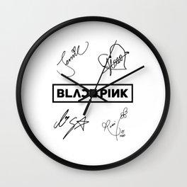 Black Pink All tribute Wall Clock