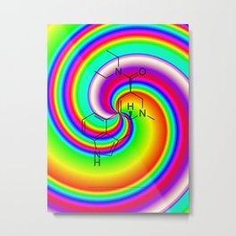 LSD swirl Metal Print