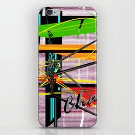 Choas is Abstract iPhone Skin