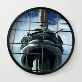 CN Tower Reflection Wall Clock