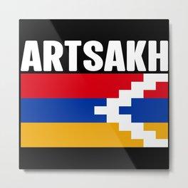 Artsakh Strong - Artsakh is Armenia Flag Gift Metal Print
