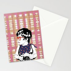 Red Glasses Stationery Cards