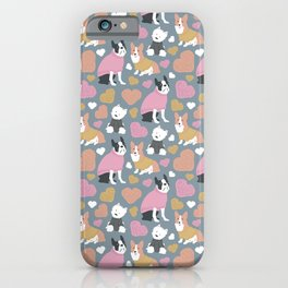 Dogs in Sweaters iPhone Case