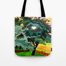 Charles Burchfield Luminous Tree Tote Bag
