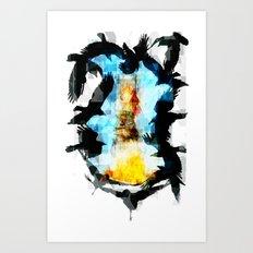 Twelve Crows Art Print