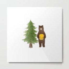 honeybear Metal Print