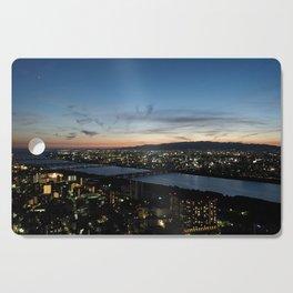 Osaka sunset Cutting Board