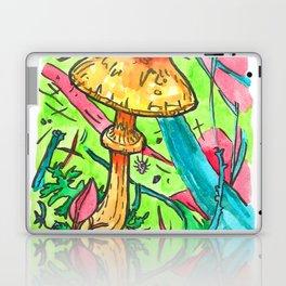 spider and mushroom Laptop & iPad Skin