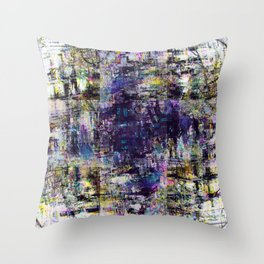 Muster dear crow remnants as older habits demonstrate. Throw Pillow