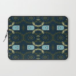 Vividly Mainly Tricolor Pattern 6 Laptop Sleeve