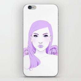 Lilac Love iPhone Skin