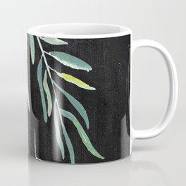 Eucalyptus Branches On Chalkboard II Coffee Mug