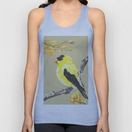 Yellow Finch Unisex Tank Top