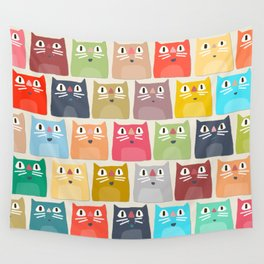 summer cats Wall Tapestry