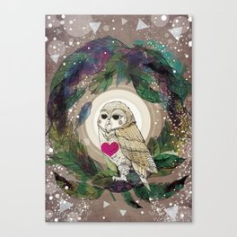 The Great Owl Canvas Print