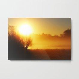Autumn Sunrise Metal Print