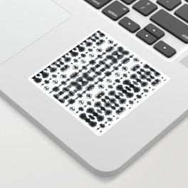 Shibori Ikat Habotoi BW Sticker