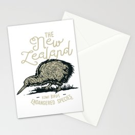 Kiwi for people who like animal, wild life and nature  Stationery Cards
