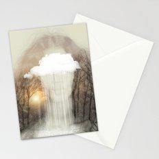 Raining Tears Stationery Cards