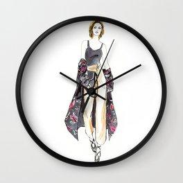 Kimono Swag Wall Clock