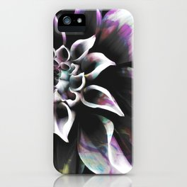 Fluid Nature - Marbled Flower iPhone Case