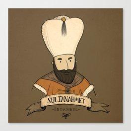 Sultanahmet, Istanbul Canvas Print
