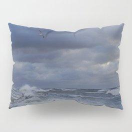 Blue wave Pillow Sham
