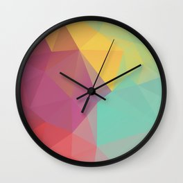 Geometric XI Wall Clock