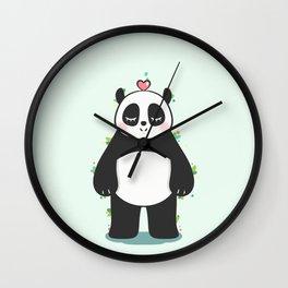 Lovely Panda Wall Clock