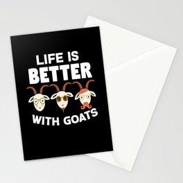 Goats Stationery Cards