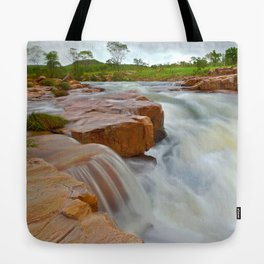 Grotto in the wet season Tote Bag