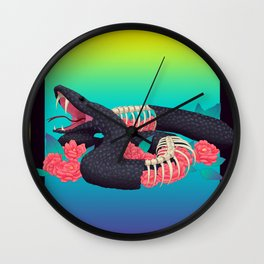Hyperreal Wall Clock