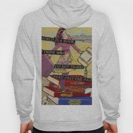 Travel The World Through Books Hoody