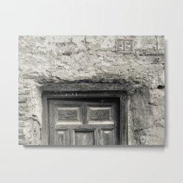 Door #7 Metal Print