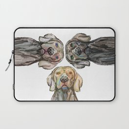 Triple Hunting Dogs Laptop Sleeve
